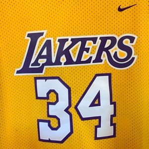 Nike LA Lakers Shaquille ONeil Jersey